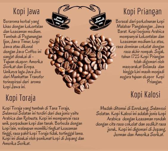 jenis kopi nusantara sulawesi