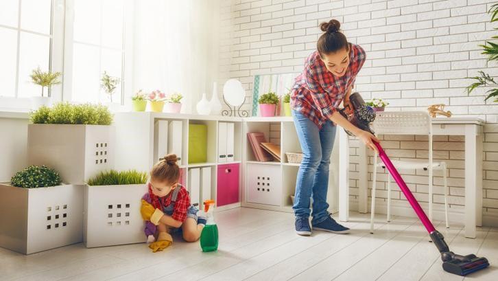 tips membersihkan rumah dengan mudah